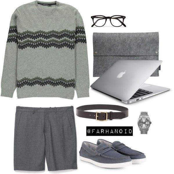 French Connection Grey by farhanoid on Polyvore featuring Rolex, Charbonize, Cutler and Gross, rag & bone, Theory, Cole Haan and French Connection