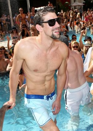 There is something incredibly dorky about Michael Phelps that makes him incredibly HOT to me :)