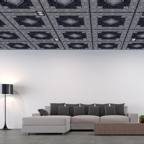 空間に品と高級感を求めたいときにどうぞ 上品でモダンでどこかレトロなペイズリー柄の パターン壁紙です 天井やリビング