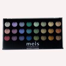 MEIS Merk oogschaduw palet make Professionele make up oogschaduw 24 Kleuren oogschaduw Palet Beauty eye glitter MS2413(China)