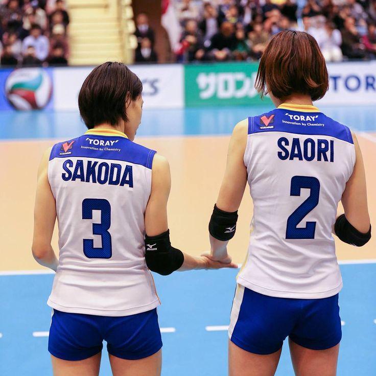 3月2日だから現役最後の#wさおり の日だった  #volleyball #vプレミアリーグ #東レアローズ #torayarrows #toray #迫田さおり #木村沙織