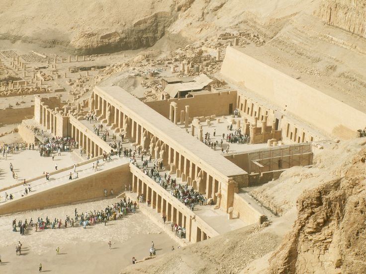 Egypt, Africa, Valley of the Kings, Luxor Hatsheput temple
