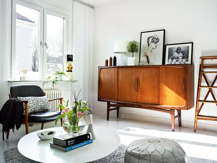 Salon Retro 50 S Living Room Vintage