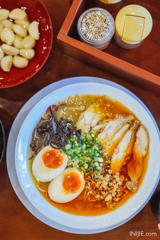 Chicken Tam Tam Ramen - Ramen Ayam Tam Tam - Hakata Ikkousha