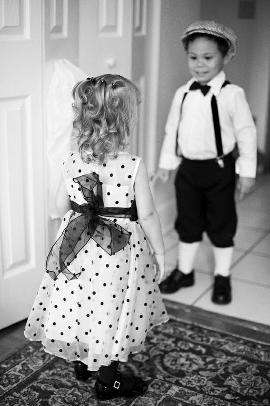 #Flowergirl & Ring Bearer... Wedding ideas for brides, grooms, parents & planners ... https://itunes.apple.com/us/app/the-gold-wedding-planner/id498112599?ls=1=8 … plus how to organise an entire wedding ♥ The Gold Wedding Planner iPhone App ♥ http://pinterest.com/groomsandbrides/boards/