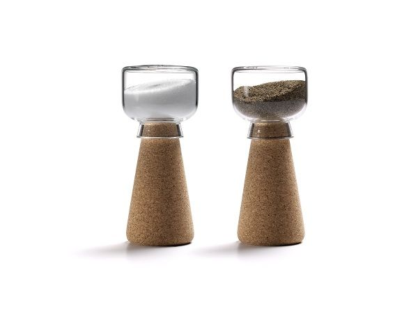 Cork Salt and Pepper Shakers
