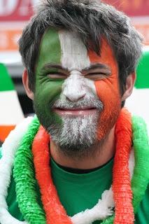 St. Patrick's Day Face Paint