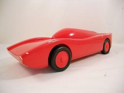 RARE Vintage Art Deco VILAC Wooden Car France EAMES! A+ (02/06/2011)