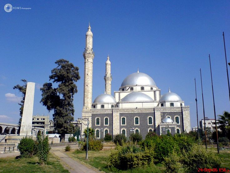 Khaled Ben Alwaleed mosque before Assad's criminals in Syria  My lens