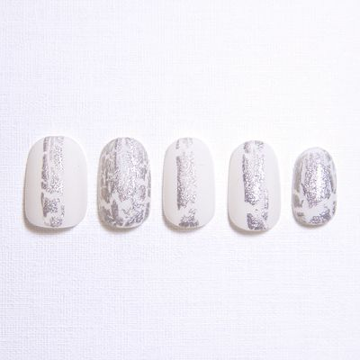 GALLERY | DaB | Nail: Silver Stained, Beautiful Nails, Crack Nails, Toenails Emergency, Dinosaurs Eggs, Dinosaur Eggs, Beauty Nails