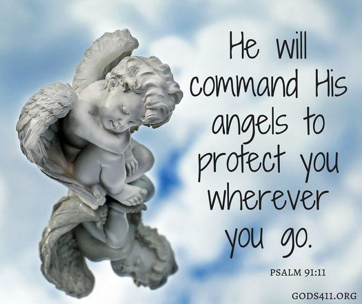Psalm 91:11 | Bible Verses