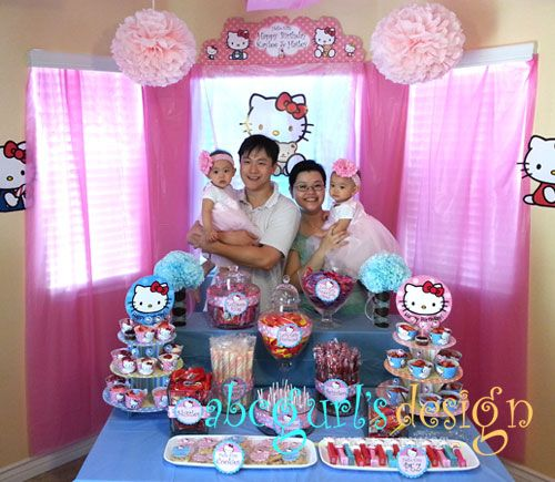 25 best Hello Kitty Candy Bar 1st Birthday Party images on
