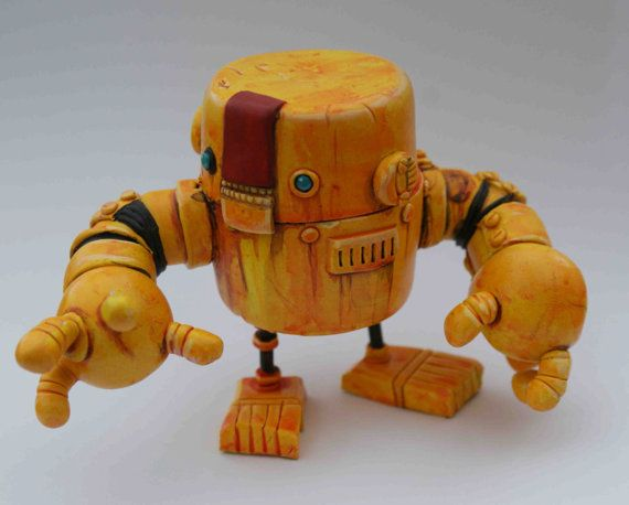 Etsy の Rusty Robot Nutcracker Bot ONE DAY SALE by Spacecowsmith