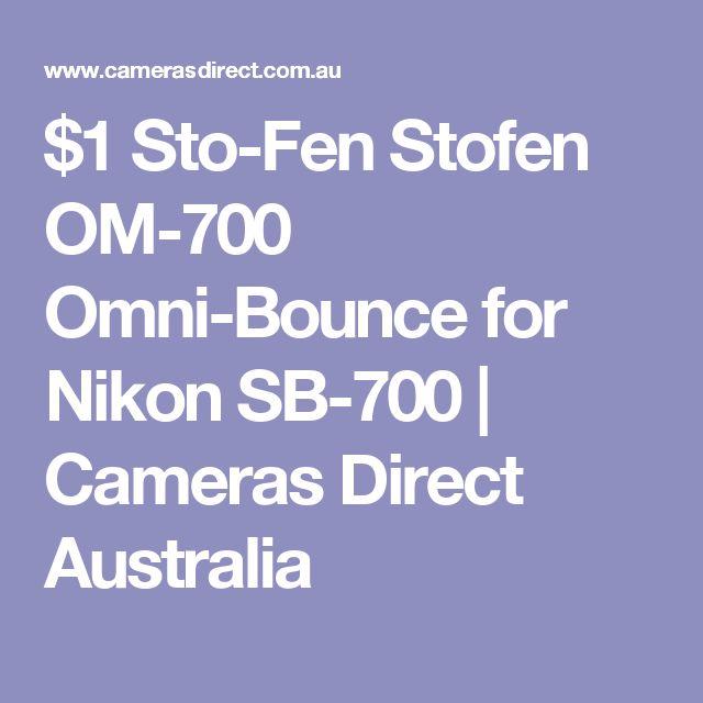 $1 Sto-Fen Stofen OM-700 Omni-Bounce for Nikon SB-700   Cameras Direct Australia