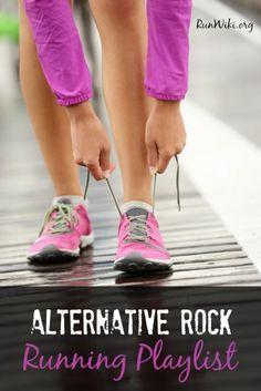 Alternative Rock Running Playlist. This got me through my 12 week half marathon training program. Love the popular songs.Running motivation