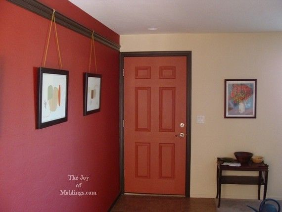 how to cut picture rail moulding