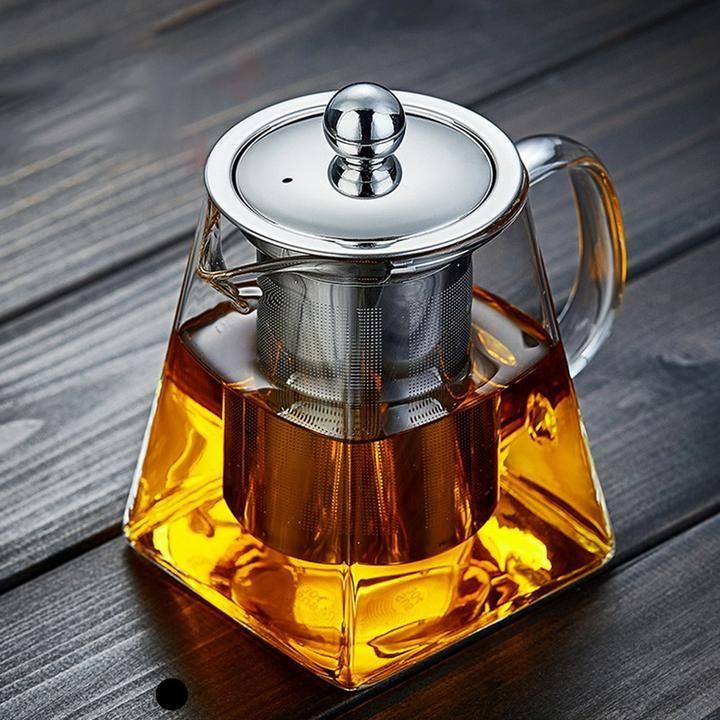 Verona Borosilicate Glass Teapot Iclassstudios Com In 2020 Glass Teapot Tea Pots Heat Resistant Glass