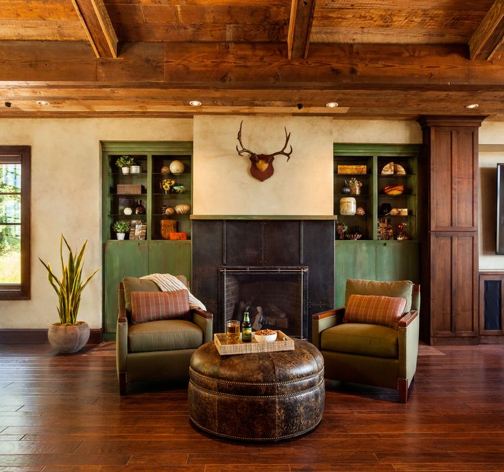 Cozy Country/Rustic Living U0026 Family Room By Garrison Hullinger On  HomePortfolio