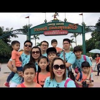 Family Disneyland Trip