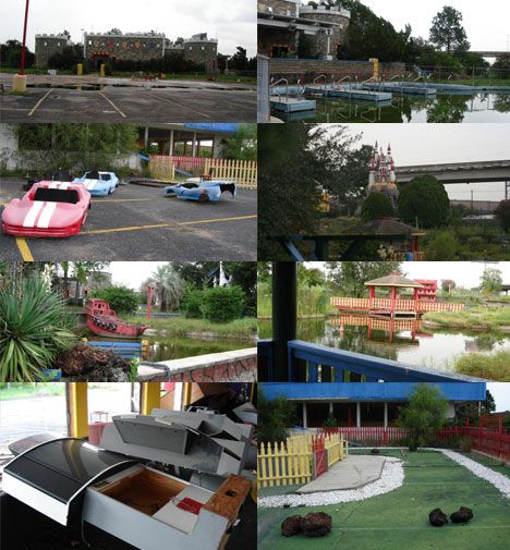 Abandoned Amusement Park Complex Houston, Texas Was One Of