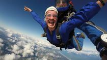 Go tandem skydiving in New Zealand and jump from as high as 16,500 feet (5,029 meters) — the highest elevation available on the North Island! You'll freefall for 75 seconds before your tandem instructor pulls the ripcord. Alternatively, opt for a skydive package from 13,000 feet (3,962 meters) or go from 9,000 feet (2,743 meters). Once you've caught your breath, soak up the stunning coastal views of rainforests and beaches from above.