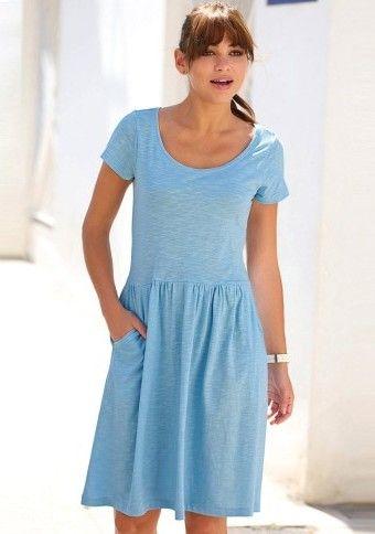 Žíhané šaty #ModinoSK #modino_sk #modino_style #style  #fashion #spring #summer #dress