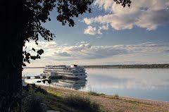Волга у Мариинского Посада