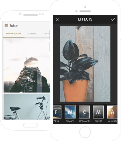 Fotor offers free online DESKTOP photo editor with cool effects, collage maker and more
