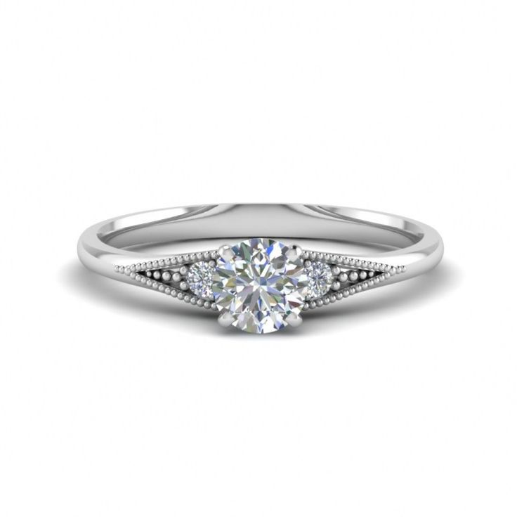 Flat Engagement Rings - Luxury - These rings are a cut above the rest, very honestly in terms of price, your ring will be larger or have additional diamonds if you choose a multistone above a sport ring. The clarity will be increased and it will be clearer and colourless with very few...