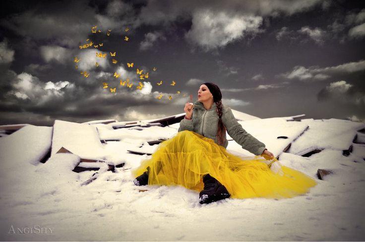 Butterfly blower by Angi-Shy.deviantart.com on @DeviantArt
