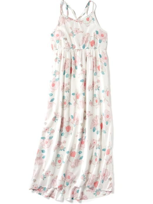 Floral Maxi Dress for Girls Product Image