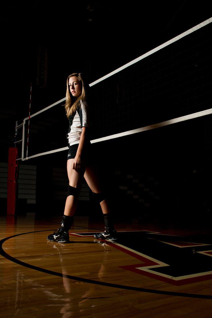 volleyball senior pics