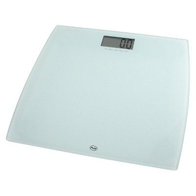 American Weigh Scales Digital Bathroom Scale - 330LPW-WT, White