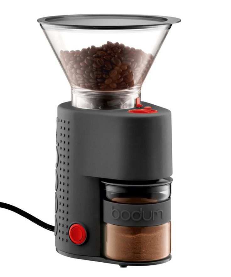 Black Electric Coffee Grinder By Bodum For The Home