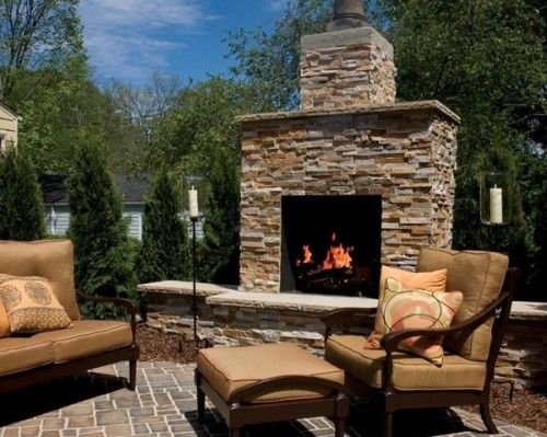 best 25 outdoor fireplace kits ideas on pinterest