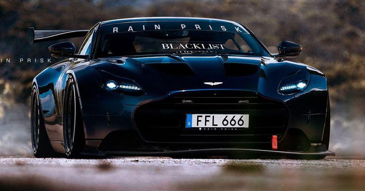 Aston Martin DB11 Morphs Into A Vulcan-Rivalling Racetrack Monster #Aston_Martin #Aston_Martin_DB11