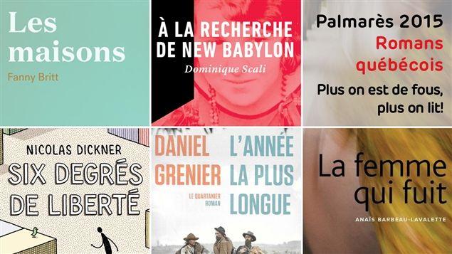 Le palmarès 2015 des meilleurs romans, catégorie livres québécois | Plus on est de fous, plus on lit!