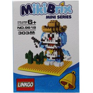 LEGO Nano Block Linkgo Doraemon Cowboy :  - Di lengkapi Panduan Perakitan yang detail & mudah di mengerti - Bahan berkualitas super, rapi dan halus - Ready Stock - Merek Linkgo - Terdiri dari 303 Pcs Bricks / partnya - Merupakan mainan edukasi untuk meningkatkan kreativitas dan imajinasi _ Untuk Anak-anak usia 6+ - Untuk Model lain silahkan cek produk dan harganya di lapak kami : www.bukalapak.com/indosoccerstarz