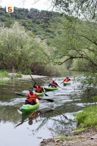 Titolo: Escursione in canoa sul fiume Cedrino  Autore: Moro Roberto
