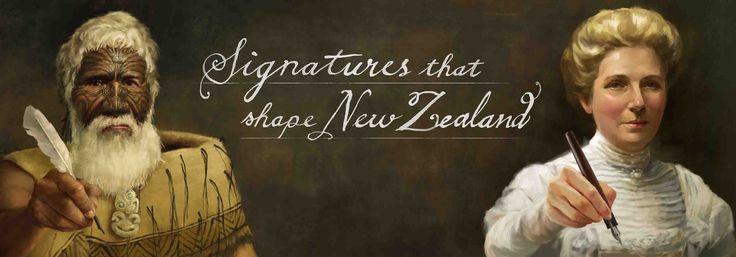 Signatures that shape New Zealand