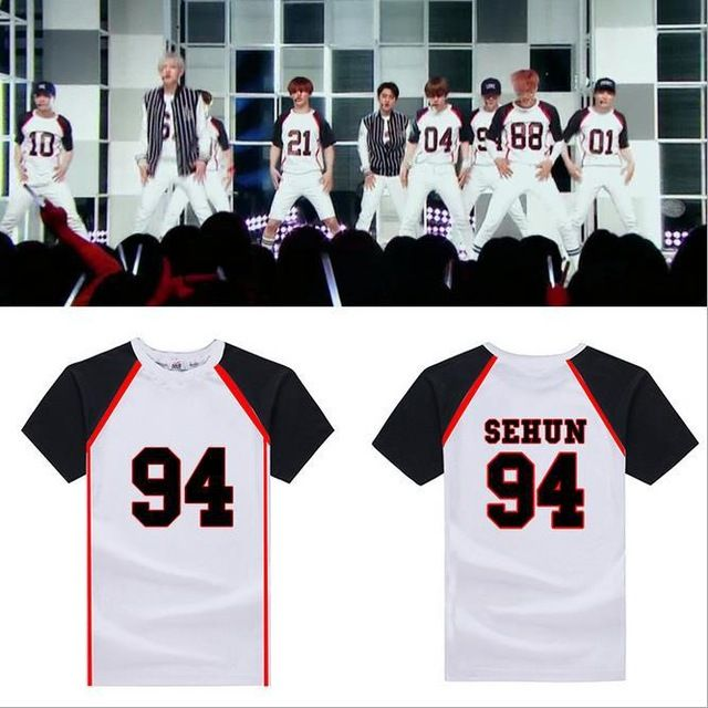 Special offer Summer exo shirt kpop Style EXO T Shirt 2015 Should Aid Luhan Sehun Love Me Right Album Short Sleeve T-shirt k-pop Clothes Tees just only $13.22 with free shipping worldwide  #tshirtsformen Plese click on picture to see our special price for you