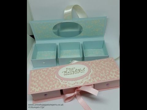 Beautiful Reinforced Jewelry/Gift Box - YouTube