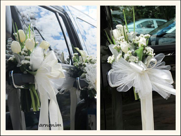 קישוט רכב wedding car decoration
