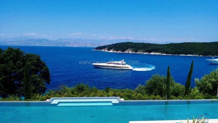 A clients luxury yacht
