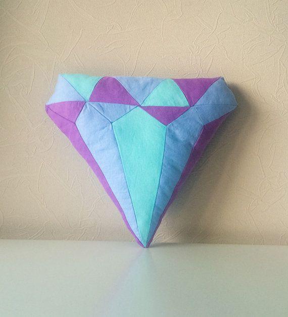 Подушка ручной работы алмаз от BeTheOriginal на Etsy