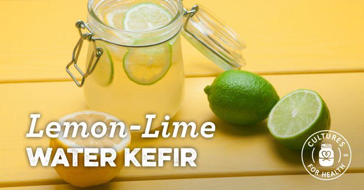 Lemon-Lime Water Kefir Recipe