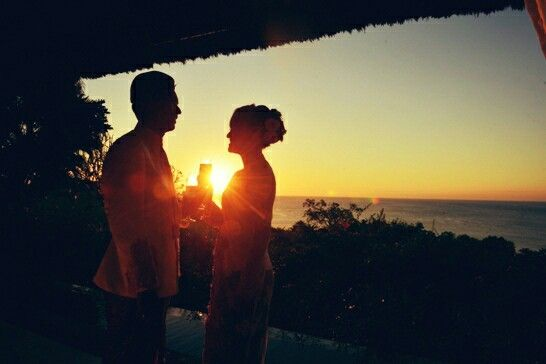Sunset with love..
