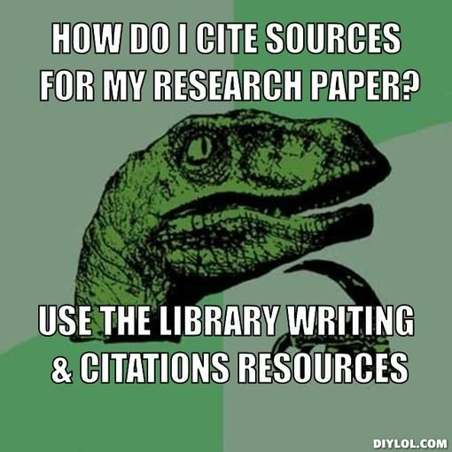 Citation help for my research paper!?