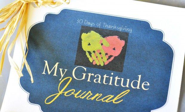 printable thanksgiving journal