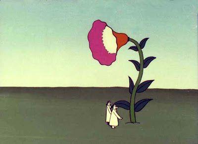 Yoji Kuri (Japon,1928-) – Evolution, extrait d'un dessin animé (1976)
